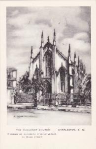 Charleston , South Carolina, 30-40s; Elizabeth O´Neill Verner; Huguenot Church