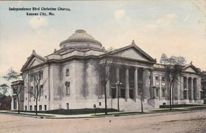 Independence Blvd Christian Church, KANSAS CITY, Missouri, 1900-1910s