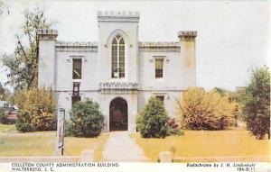 Colleton County Administration Building, Walterboro SC