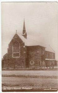 Zimbabwe; St John's Church, Bulawayo RP PPC, Lennon's Series, Unused
