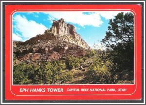 Utah, EPH Hanks Tower Capitol Reef Park - [UT-018X]