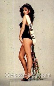 Miss Lay Glamour Woman Postcard Post Card  Miss Lay