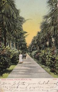 Florida Palm Beach Ocean Avenue 1909
