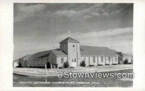 Trinity Lutheran Church - Fort Morgan, Colorado CO