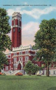 NASHVILLE , Tennessee , 1930-40s ; Vanderbilt University College Hall