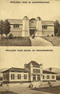 indonesia, JAVA SEMARANG, Colonial Exhibition, Sugar & Tram Pavilion Expo 1914