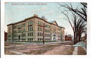 LAWRENCE, Massachusetts, 1900-1910's; Lawrence High School