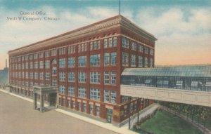 CHICAGO, Illinois, 1900-10s ; General Office, Swift & Company