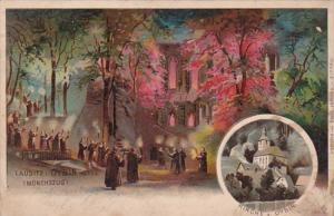 Germany Oybin Moenchszug und Kirche 1905