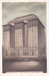 NEW YORK CITY, New York; The Roosevelt, 45th & Madison Avenue, PU-1936
