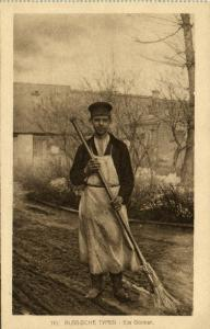 russia, Russian Types, Native Gardener (1915)