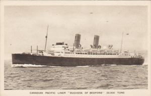 Canadian Pacific Liner S S Duchess Of Bedford