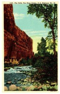 The Dells Ten Sleep Canon U. S. Highway Wisconsin 1915 -1930 era