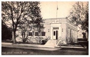 Massachusetts  Franklin Post Office