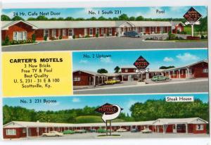 Carter's Motel, Scottsville KY