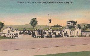 Alabama Huntsville Paradise Tourist Court sk7335