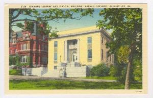 Simmons Library & Y.W.C.A. Building, Brenau College, Gainesville, Georgia, 19...