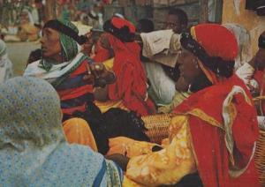 Harrar Ethiopia Market Scene Ethiopian Postcard