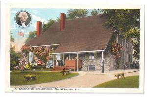 Newburgh NY Postcard Washingtons Headquarters Vintage c 1925