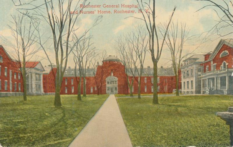 General Hospital and Nurses Home - Rochester, New York - DB