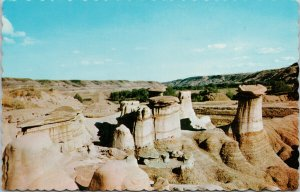 Hoodoos Drumheller Alberta AB Unused Vintage Postcard F15