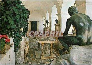 Postcard Modern Sculpture Gallery Villa San Michele Anacapri