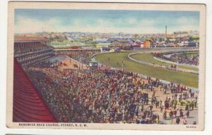 P89 JLs postcard old randwick horse race course sydney n.s.w