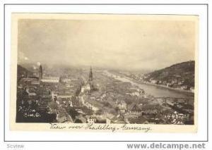RP Heidelberg, Germany, 1910-20s View over city