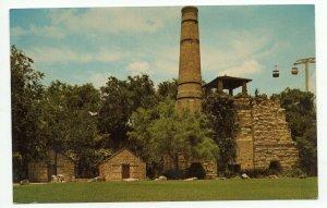 Postcard Old Cement Plant At Sunken Gardens PC12 9