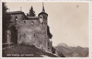 Switzerland Gruyeres Les remparts Photo