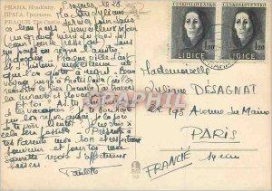Postcard Modern Praha Hrad?any