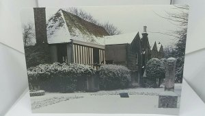 Vintage Postcard Prittlewell Priory Essex Priors Chamber & Crowstone Winters Day