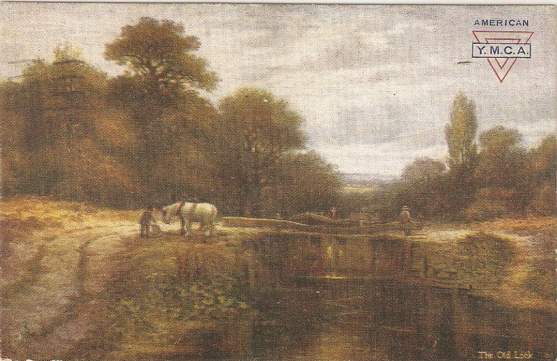 The Old Lock. Horse Tuck Oilette Happy England Ser. PC  # 9434