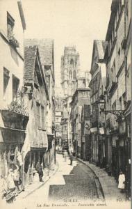 CPA Rouen - La Rue Damiette (105534)