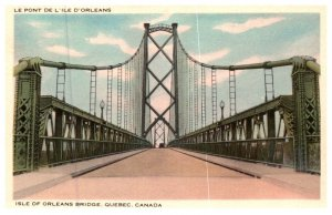 Canada Quebec , Isle of Orleans Bridge