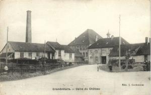 CPA Grandvillars - Usine du Chateau (142575)