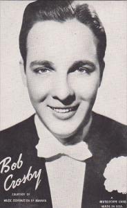 Vintage Mutoscope Card Bob Crosby