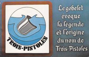 Goblet legend for name TROIS-PISTOLES , Quebec , Canada  , PU-1986