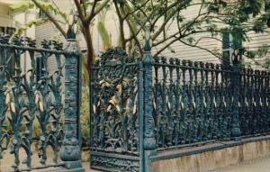 Louisiana New Orleans Cornstalk Fence Guest House 915 Royal Street