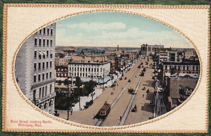 WINNIPEG, Manitoba, Canada, 1930-1950s; Main Street Looking North