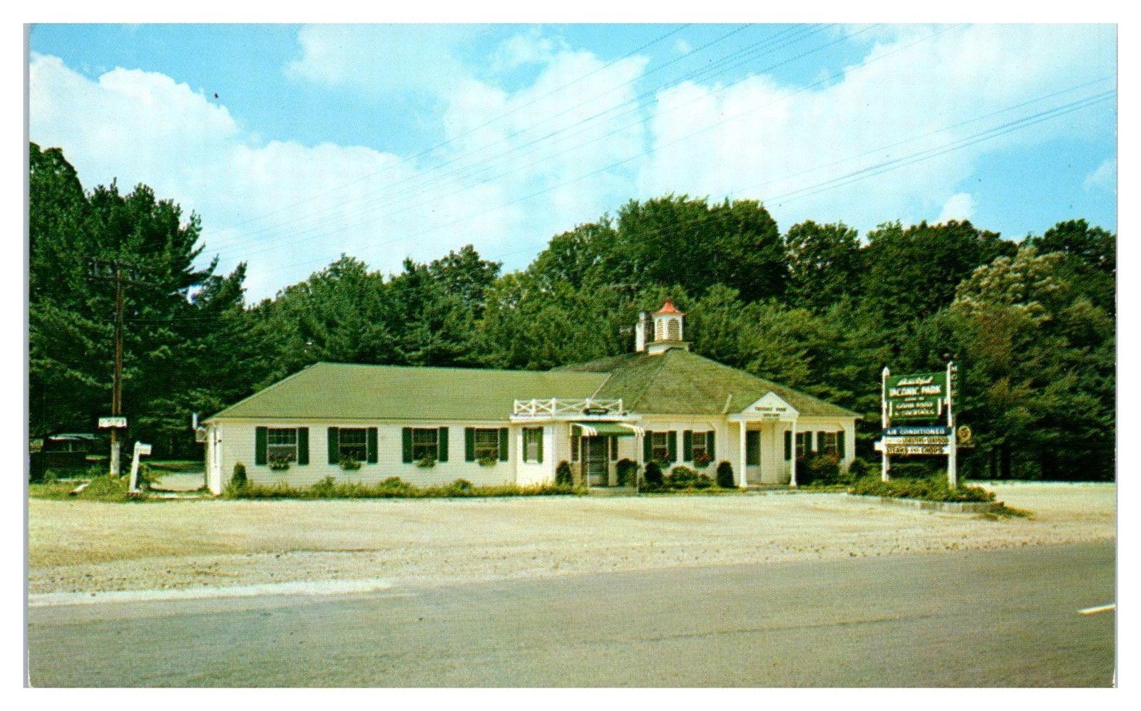 1950s 60s Taconic Park Restaurant Williamstown Ma Postcard