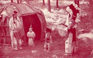 CHIEF LITTLE EAGLE FAMILY TEACH DANCING WISCONSIN DELLS