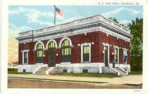 Post Office in Henderson, Kentucky, KY, Linen