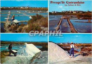 Postcard Modern Brittany peninsula Gu�randaise The Les Salines Batz