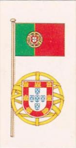 Brooke Bond Tea Trade Card Flags &  Emblems No 32 Portugal