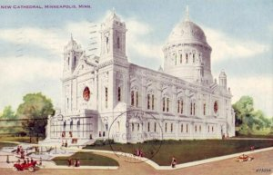 NEW CATHEDRAL MINNEAPOLIS, MN 1910