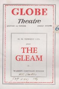 Trespass The Gleam Prodigal Ghost Story Globe 3x London Theatre Programme