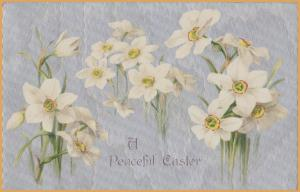 A Peaceful Easter - Easter Lillies - Silver foil
