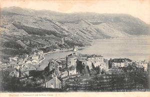 Buccari Republic of Hungary Totalansicht und Schloss Castel Buccari Totalansi...