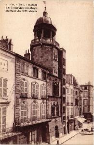 CPA RIOM La Tour de l'Horloge (409037)